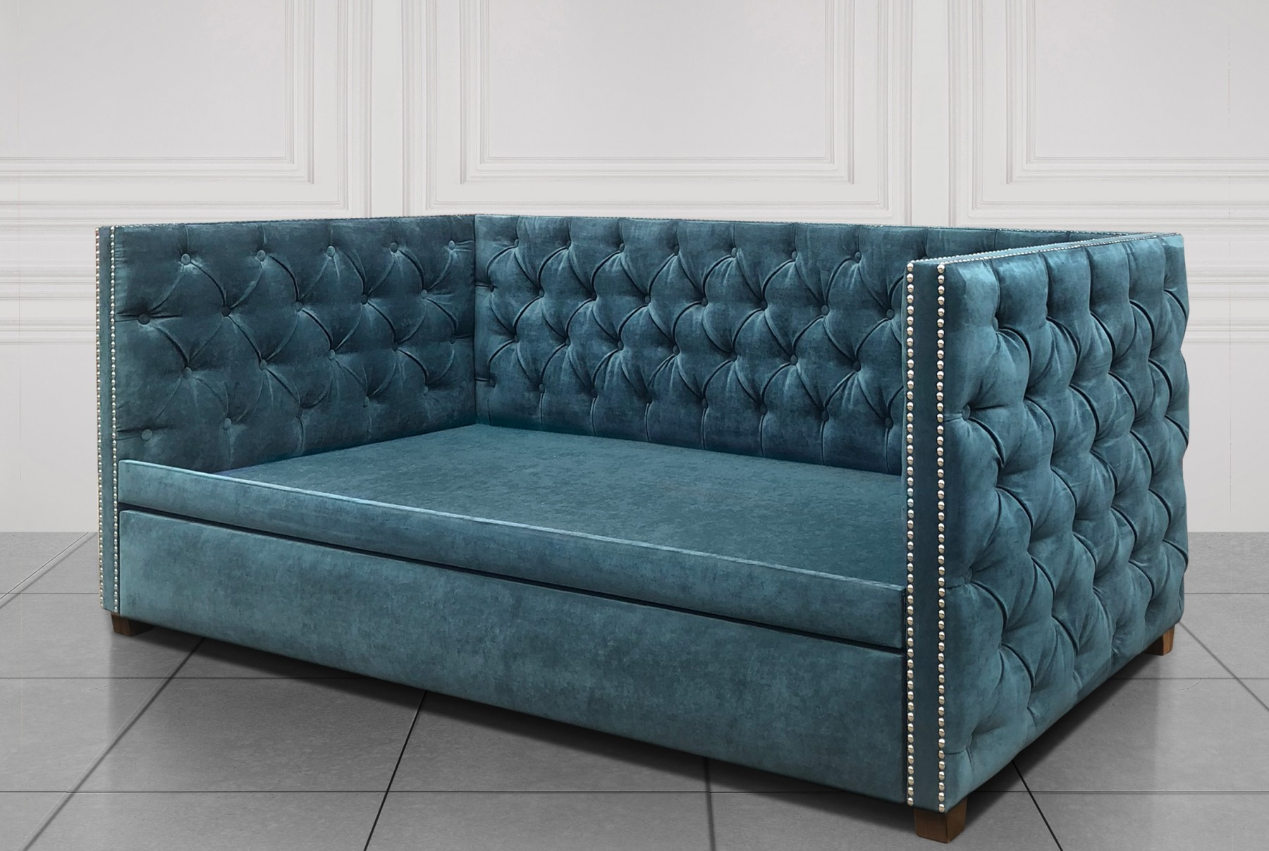 Кровать Double-Chesterfield-Plus